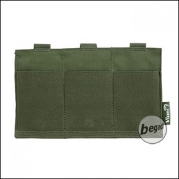 "VIPER ""Flat"" Triple Mag Plate Pouch, elastisch - olive"
