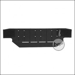 VIPER Lasercut Mini Belt Plattform -schwarz-
