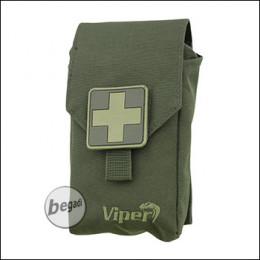 VIPER Tactical First Aid Pouch, mit Inhalt - olive