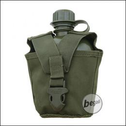VIPER Plastikfeldflasche mit MOLLE kompatiblem Nylonbezug -olive-