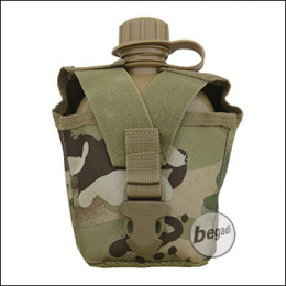 VIPER Plastikfeldflasche mit MOLLE kompatiblem Nylonbezug -vcam / multiterrain-