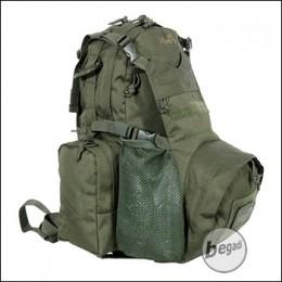 VIPER Mini Modular Pack / Rucksack, mit Helmtasche, max. 19 L. - olive