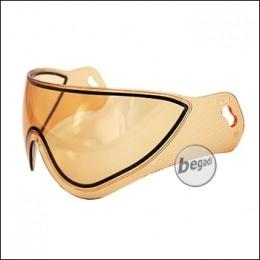 Ersatz Glas für WARQ Schutzhelm -orange-