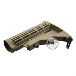Begadi M4 / M16 Socom Polymer Stock -TAN-