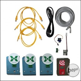 """Xcortech XTS105 / XP105-3T Target System """"Basic Set"""" - mit 3 Zielen"""