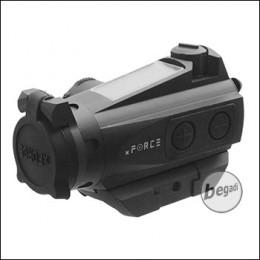 xFORCE XFR01 Reddot mit flacher Montage -schwarz-