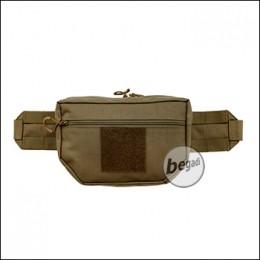 ZentauroN Hüfttasche EDC, erweiterbar, mit Klettfläche - coyote