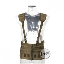 ZentauroN Front Split Modular Chest Rig - coyote