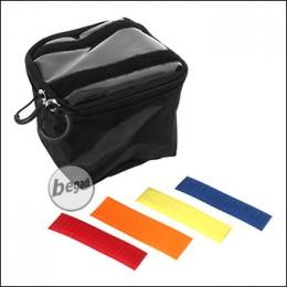 ZentauroN Innentasche für Rucksack etc., schwarz - Gr. M / 2L