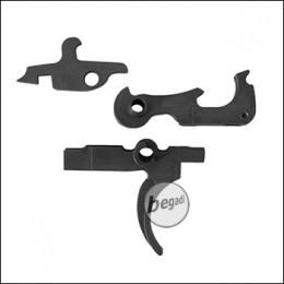 Z Parts KJW M4 GBB Stahl Trigger Set [KJ-M4-001]