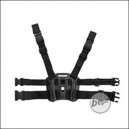 KYOU Beinplattform für Hartschalenholster, schwarz