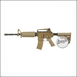 WE M4A1 Open Bolt GBB -TAN- (frei ab 18 J.)