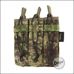 BE-X Open Mag Pouch, triple, für MP5 - PenCott Greenzone