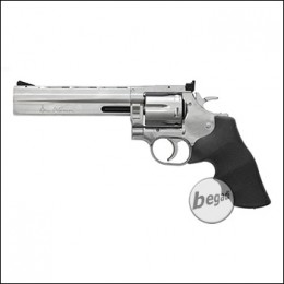 "Dan Wesson 715 6"" Revolver -silber-, Low Power (frei ab 18 J.)"