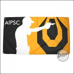 AIPSC Fahne, Fotodruck, 60x120cm, mit Ösen