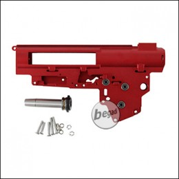 Begadi CNC Aluminium V3 QD Gearbox Shell 8mm -rot-