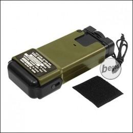 Begadi Speedloader, MS2000 Distress Marker Style, olive, für 130 BBs