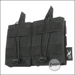 BE-X Open Mag Pouch, double, für G3 / M14 - schwarz