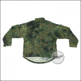 "BE-X Basic Combat Jacket, German Army Camo ""Flecktarn"""