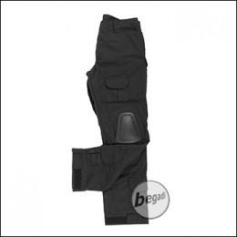 BEGADI Basics Combat Pants, Schwarz