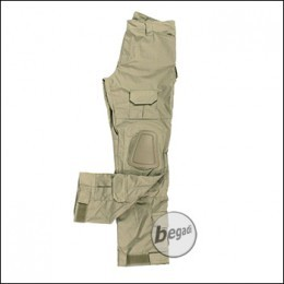 BEGADI Basics Combat Pants, Tan
