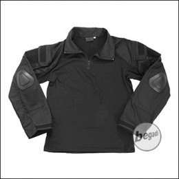 BEGADI Basics Combat Shirt, Schwarz