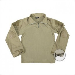 BEGADI Basics Combat Shirt, Tan