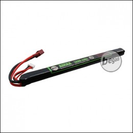 "Begadi ""AMAX"" LiPo Akku 7,4V 1200mAh 25C -long- Single Stick mit Dean"