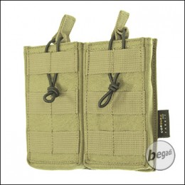 BE-X Open Mag Pouch, double, für M4 / M16 - Coyote Tan / MJK