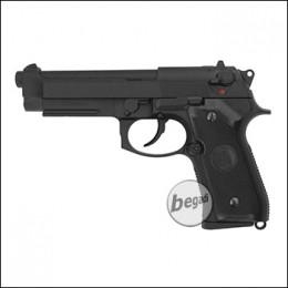 """KJW M9 A1 """"PRO"""" GBB, schwarz, Gas Version (frei ab 18 J.)"""