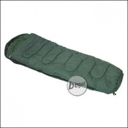 Mumien Schlafsack, olive, Füllung 350g/m² Polyester, 2-lagig