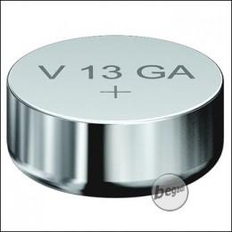 VARTA Knopfzelle V13GA / LR44 (1,5V - 125mAh - Alkaline)