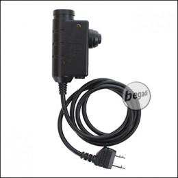 EARMOR PTT Einheit / Sprechtaste für Headsets - für Midland [M51-MIL]