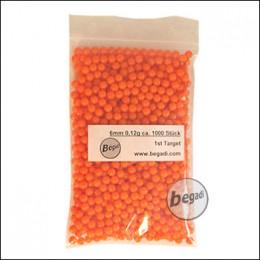 1.000 1ST TARGET DELIGHT BBs 6mm 0,12g orange