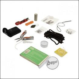 BCB Lightweight Essential Survival Kit, in wasserdichter Tasche, gelb