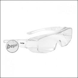 """Bollé Schutzbrille / Überbrille """"Overlight"""", transparent (OVLITLPSI)"""