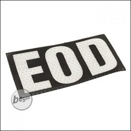 """BE-X Reflektierender Aufnäher """"EOD"""" - aus Spezialkunststoff"""