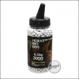 2.000 S&T BIO BBs 6mm 0,32g hell - im Feeder