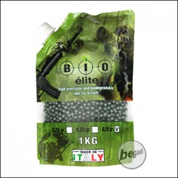 4.000 BIO ELITE High Precision BIO BBs 6mm 0,25g -olive-