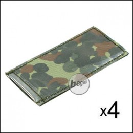 BE-X Modular ID Tags - 4er Pack - flecktarn