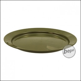 Highlander Teller aus Kunststoff, 23.5cm - olive
