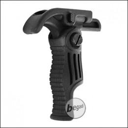 Begadi Quick Release Handform Frontgriff - schwarz