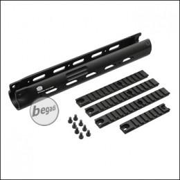 SAR M41 TRI RAIL Vorderschaft (29,2cm) - schwarz