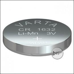 VARTA Knopfzelle CR1632 (3,0V - 140mAh - Lithium)