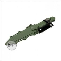 """UFC Übungsmesser / Dekomesser Typ 141 """"mit Clip"""" - olive [UFC-AR-67OD]"""