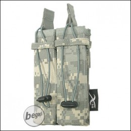 BE-X Open Mag Pouch, double, für MP5 - UCP (ACU)