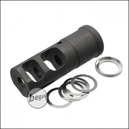 UFC MB Stahl CCW Flash Hider (14mm-) [UFC-FH-22A]