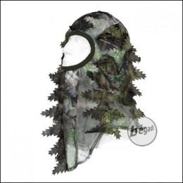 """BE-X Scharfschützen Maske """"Natural Blind© 3D"""", grün - unisize"""