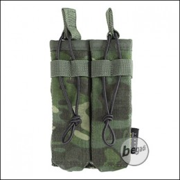 BE-X Open Mag Pouch, double, für MP5 - multicam tropic