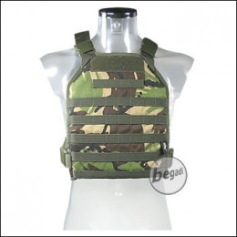 BE-X Lightweight Plate Carrier (unisize) - woodland DPM
